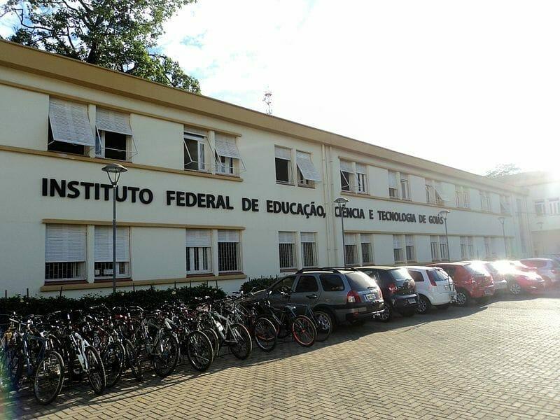Fachada do Instituto Federal de Goiás