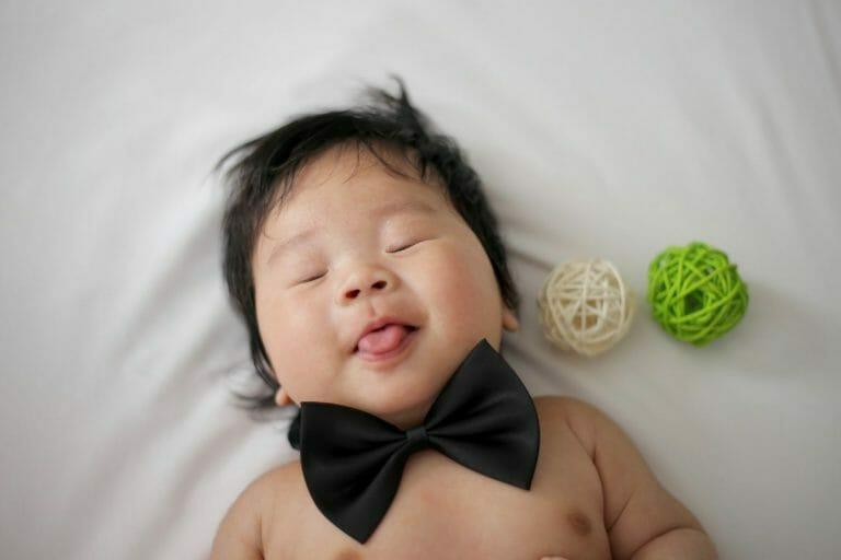 Bebê dormindo tranquilo